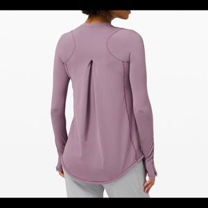 NWT Lululemon Frosted Mauve Tuck & Flow 8